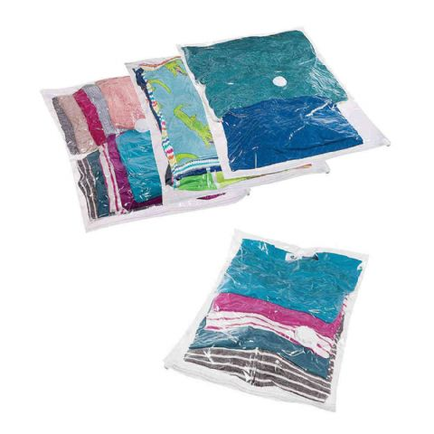 PackSmart Medium Vacuum Clothes Storage Bags (4 Pack ) Save £6